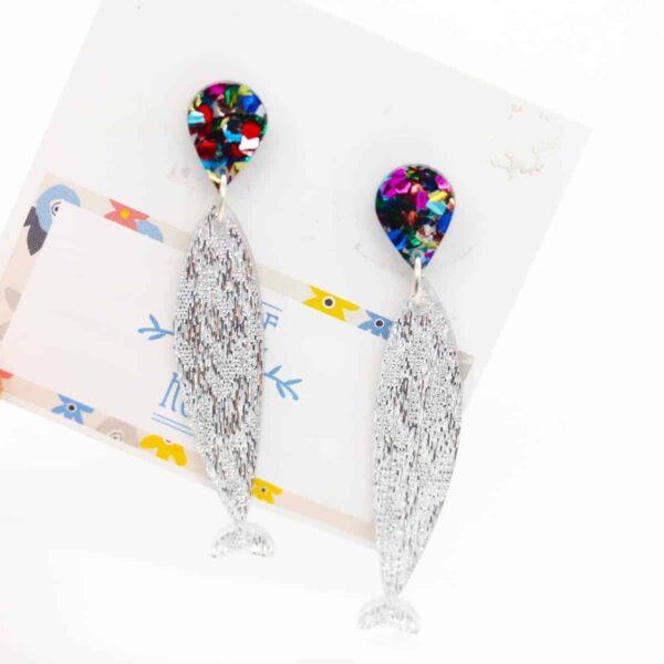 large-silver-sardines-earrings-with-rainbow-drops-earrings-by-kate-and-rose-prahran-912299-katenrosetea