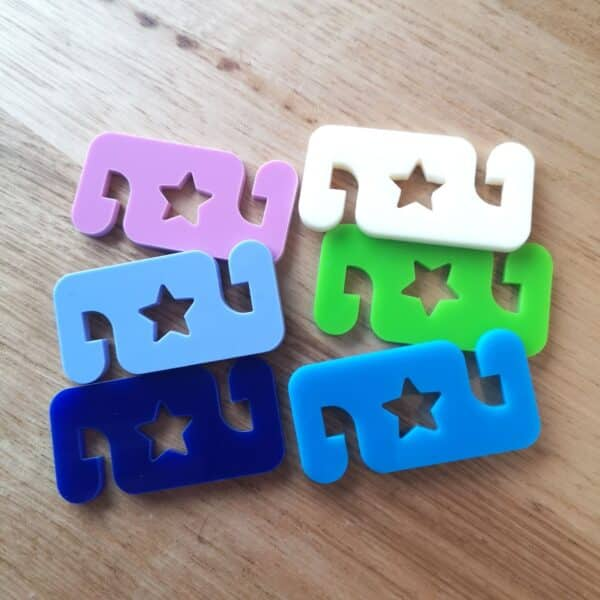 face mask ear savers star 6 pack