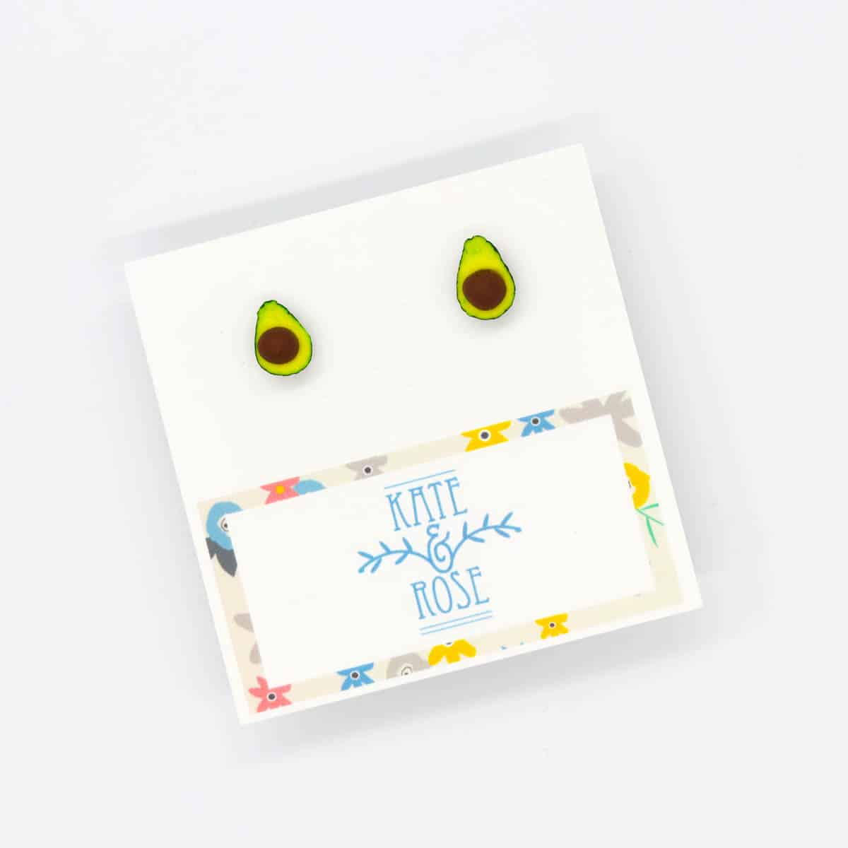 Avocado Studs – Two Pip Avocados –  By Kate And Rose (Fitzroy)