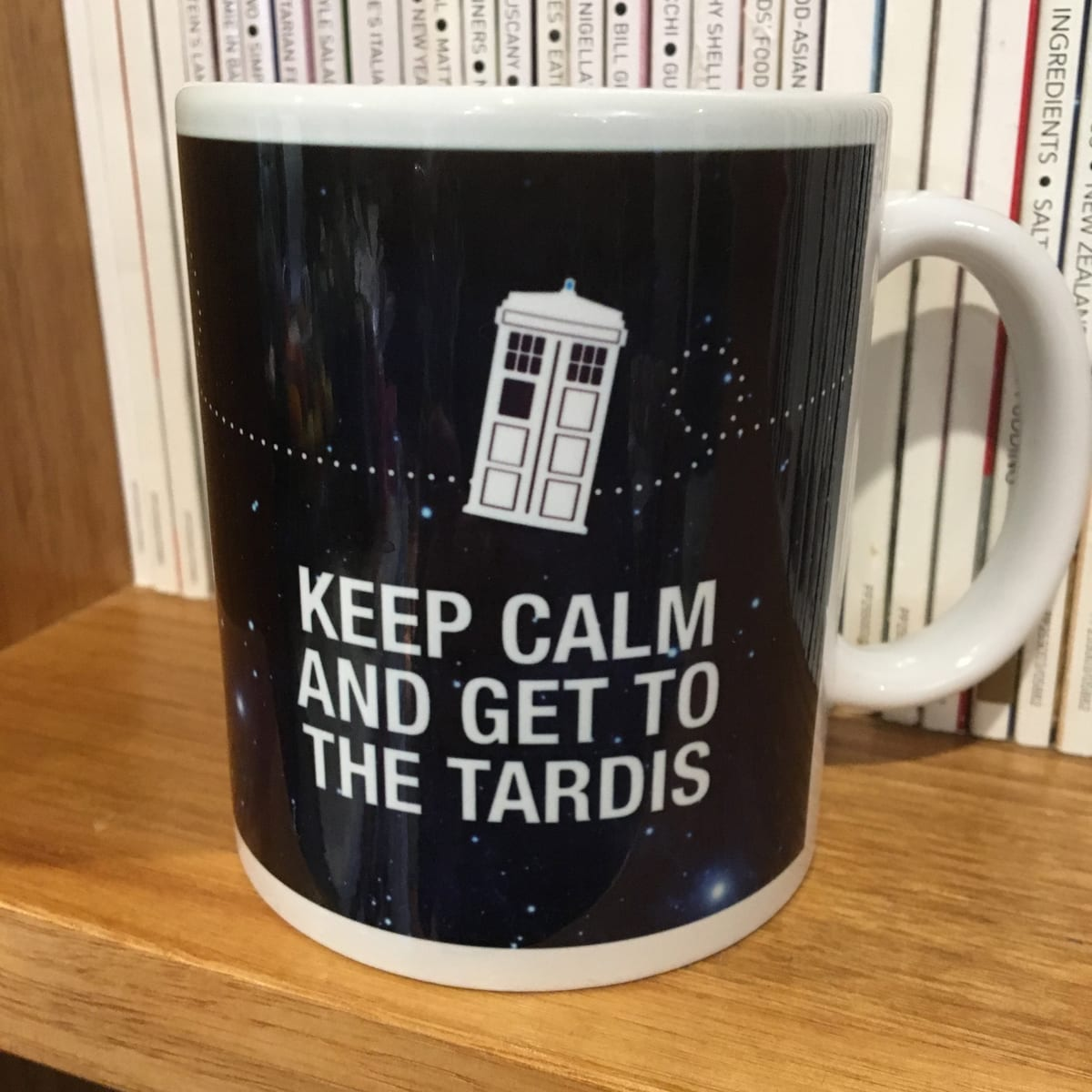 MUG – KEEP CALM TARDIS By Look Mama