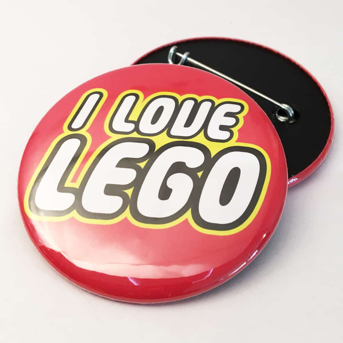 BADGE – I LOVE LEGO By Look Mama