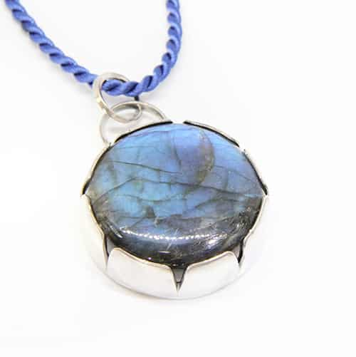 Double Sided Labradorite Pendant By TLH Inspired