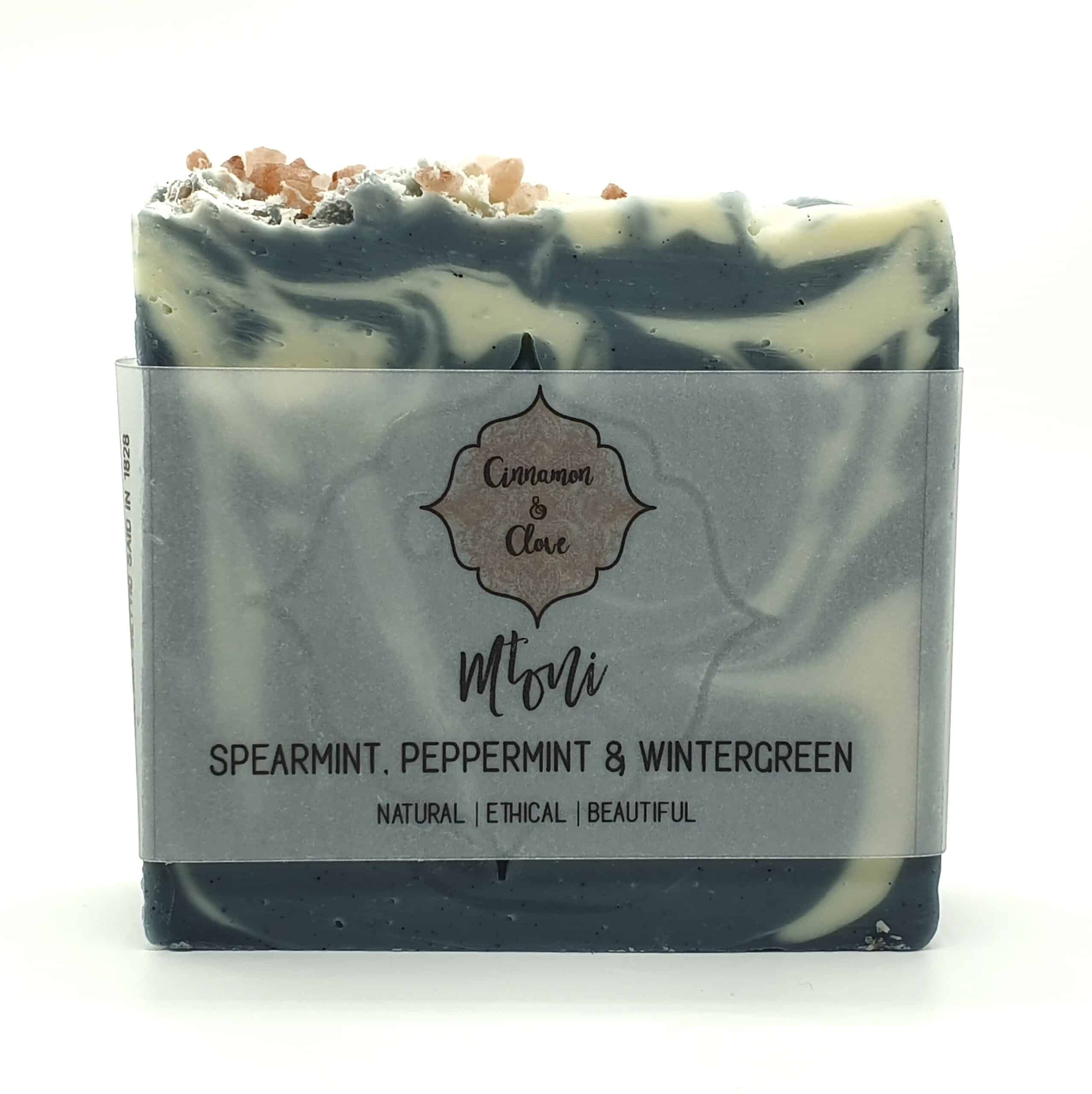 Mtoni – Handcrafted All Natural Mint Artisan Soap By Cinnamon And Clove (Prahran)