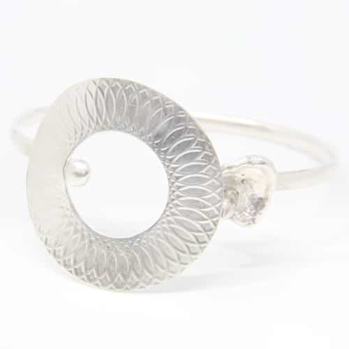 Watercast Clasped Bangle By TLH Inspired