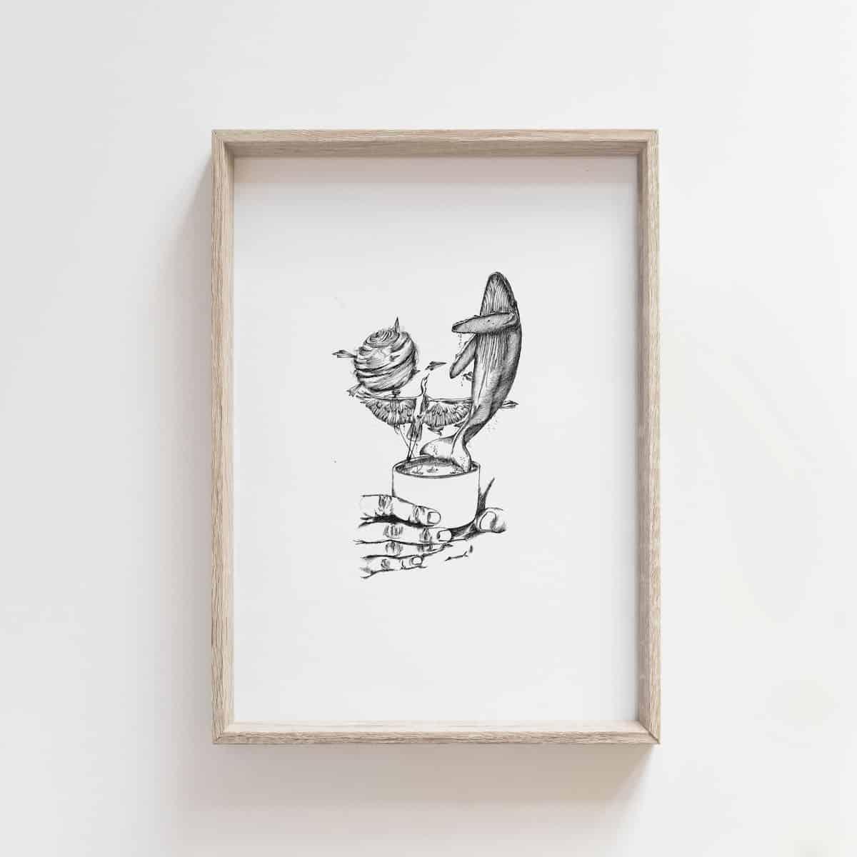Tea Series: Imagination – By Jocelin Meredith  Artwork