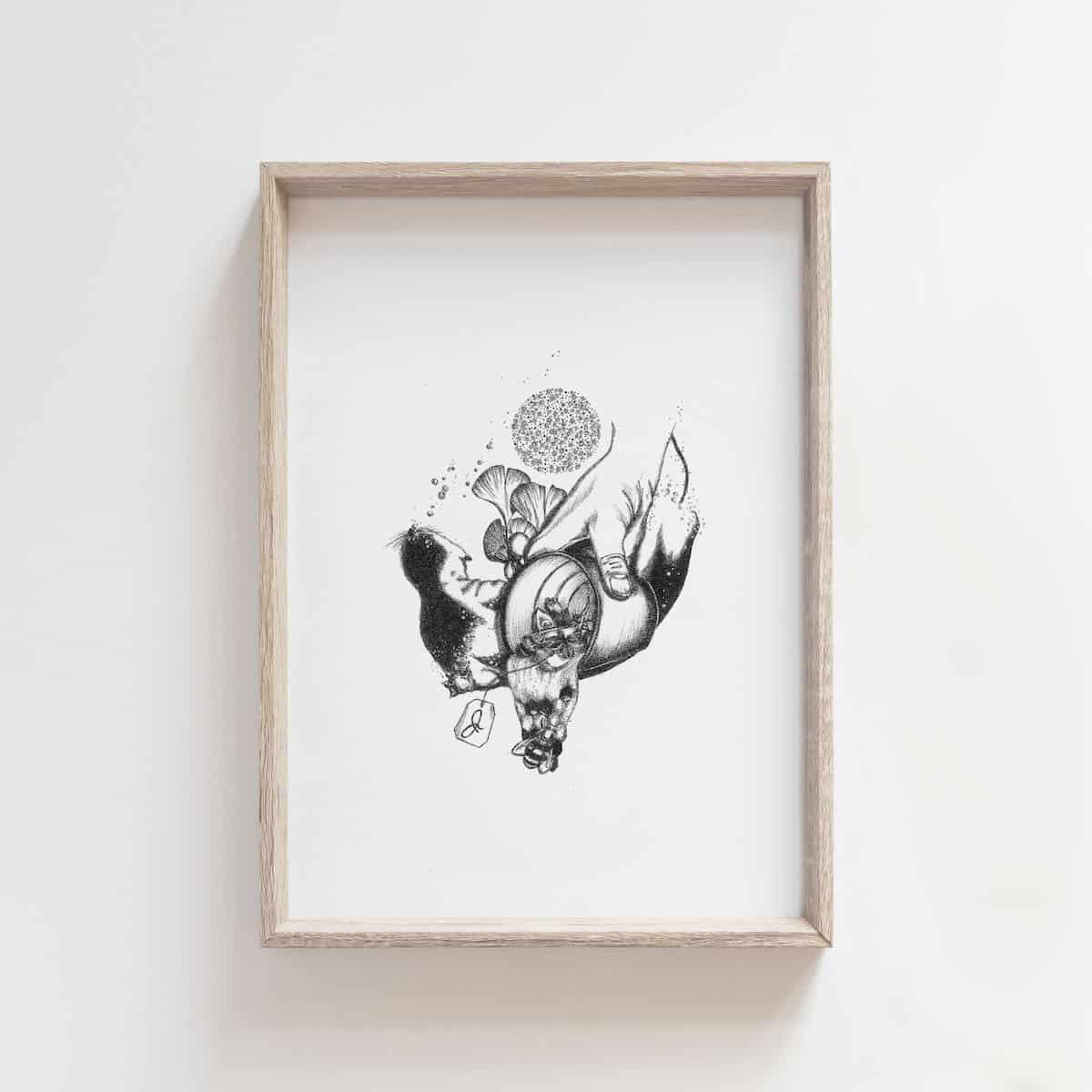 Tea Series: Create – By Jocelin Meredith Artwork