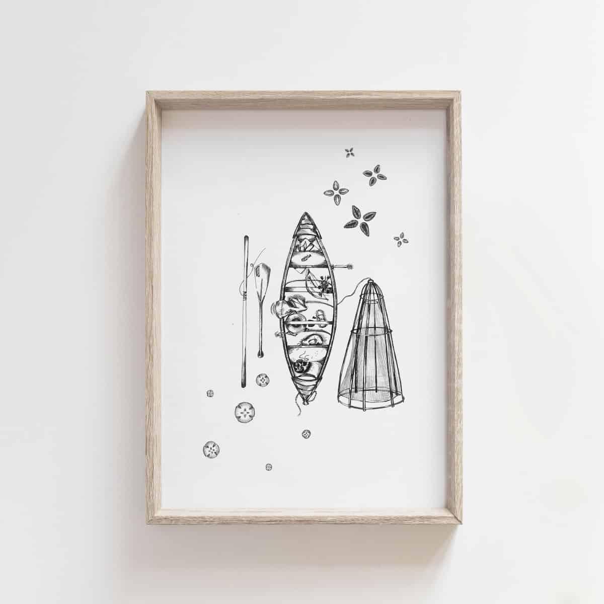 River Roots – By Jocelin Kan Meredith Art
