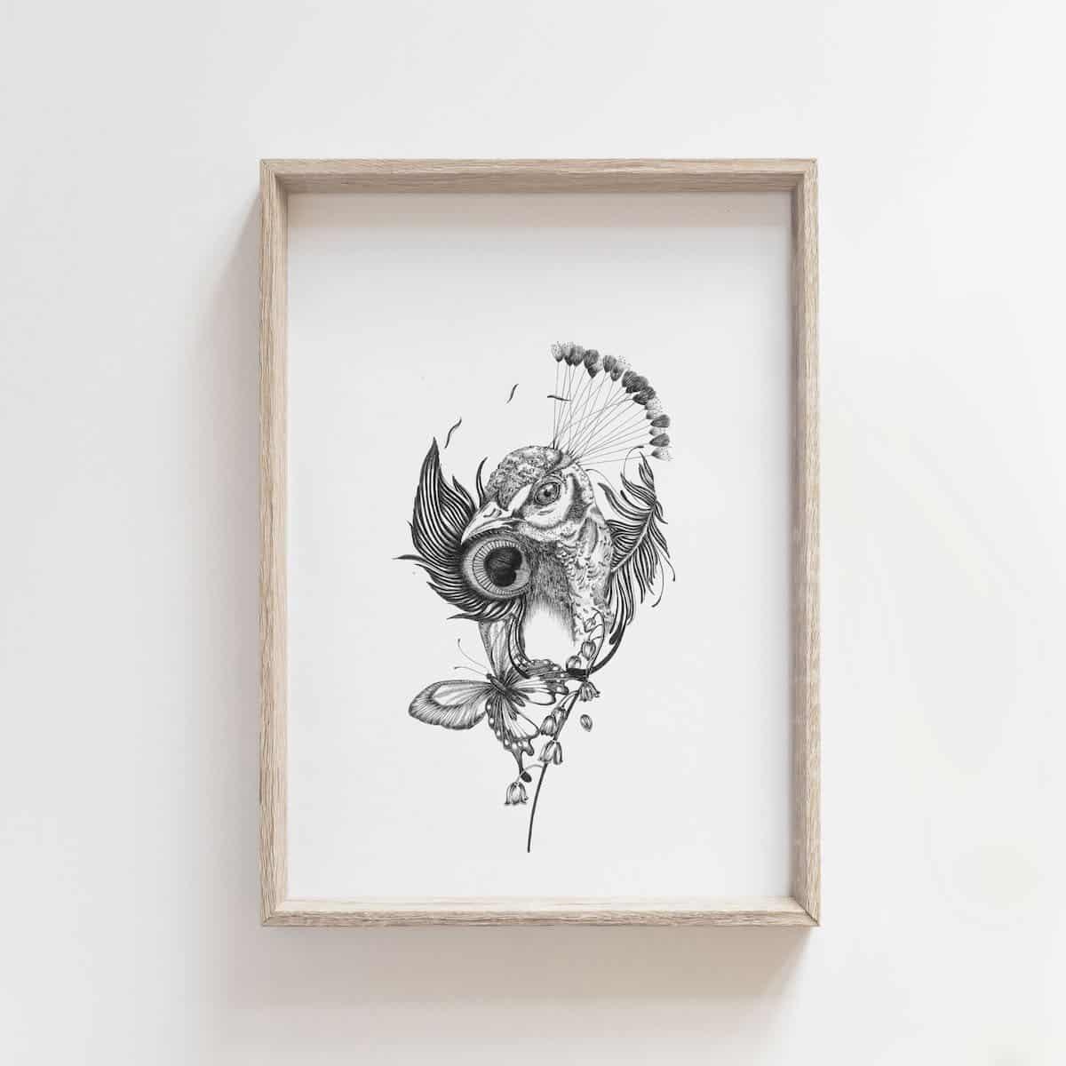 Weeds And Flowers – By Jocelin Meredith Artwork