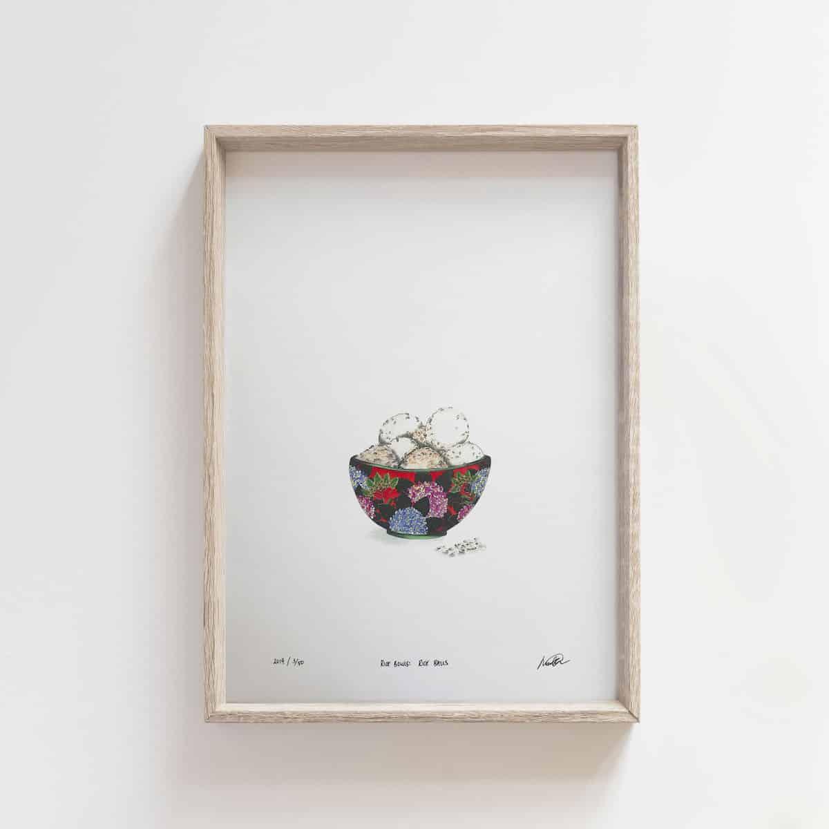 Rice Bowls: Rice Balls – By Jocelin Meredith Artwork