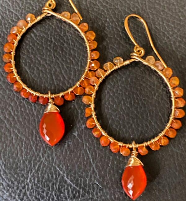 earrings-carnelian-drop-ombre-rondelles-14ct-gold-filled-wires-225-888150-covetanddesire
