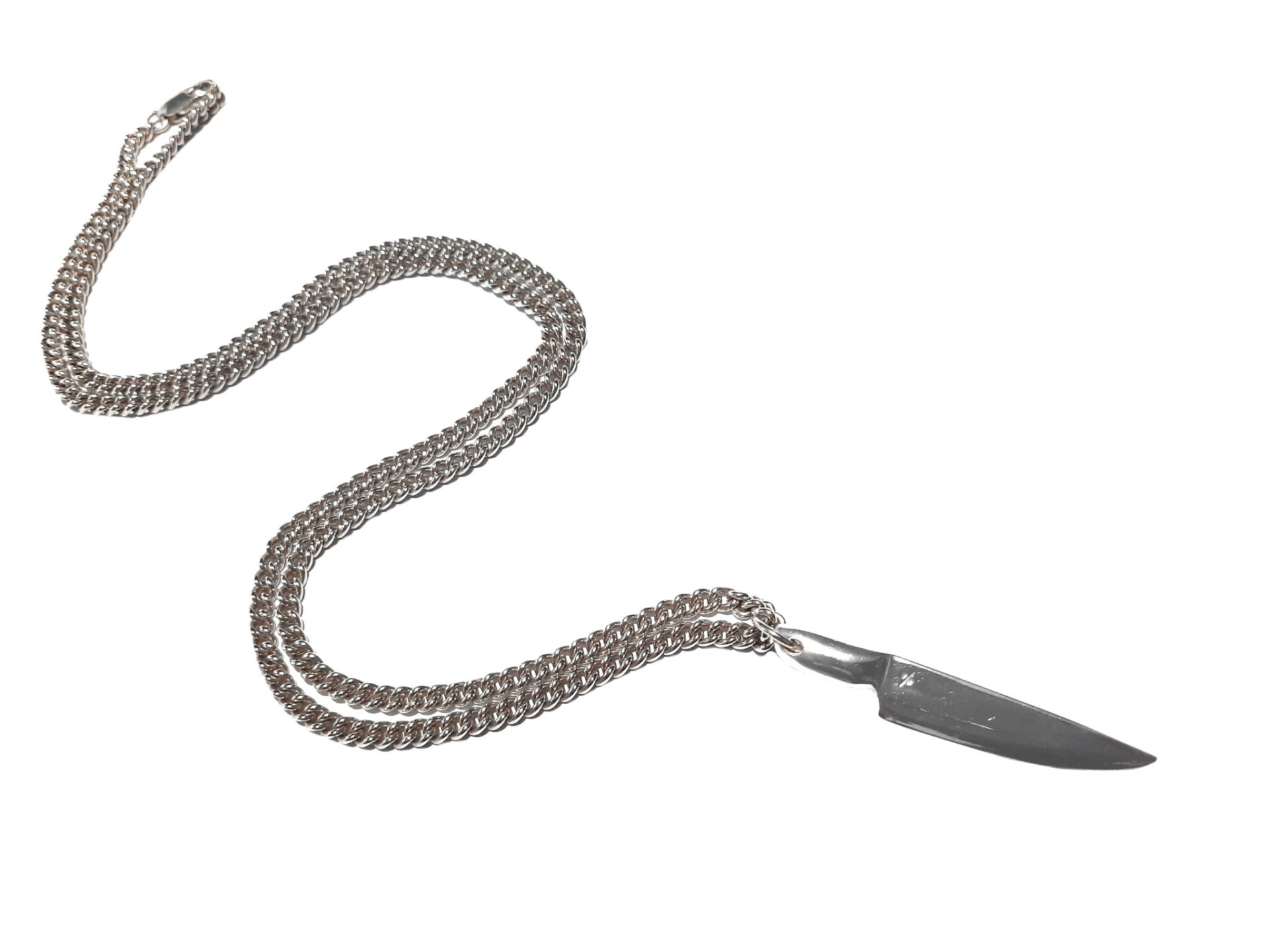 Knife Pendant And Chain By R-Process