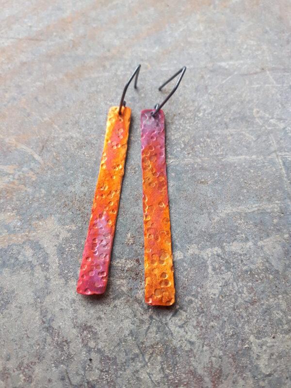 autumn-sunset-textured-strip-earrings-by-emma-hesz-by-emmahesz