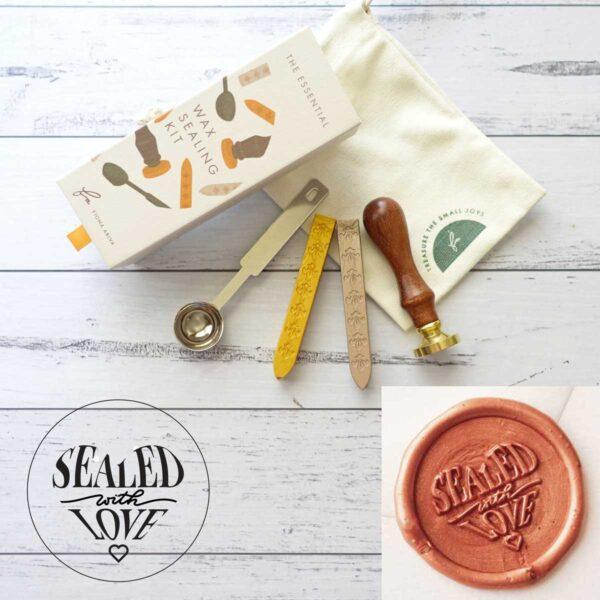 wax-sealing-set-wild-flower-stamp-wax-sticks-spoon-by-fiona-ariva-by-fionaariva