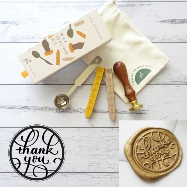 wax-sealing-set-thank-you-stamp-wax-sticks-spoon-by-fiona-ariva-by-fionaariva