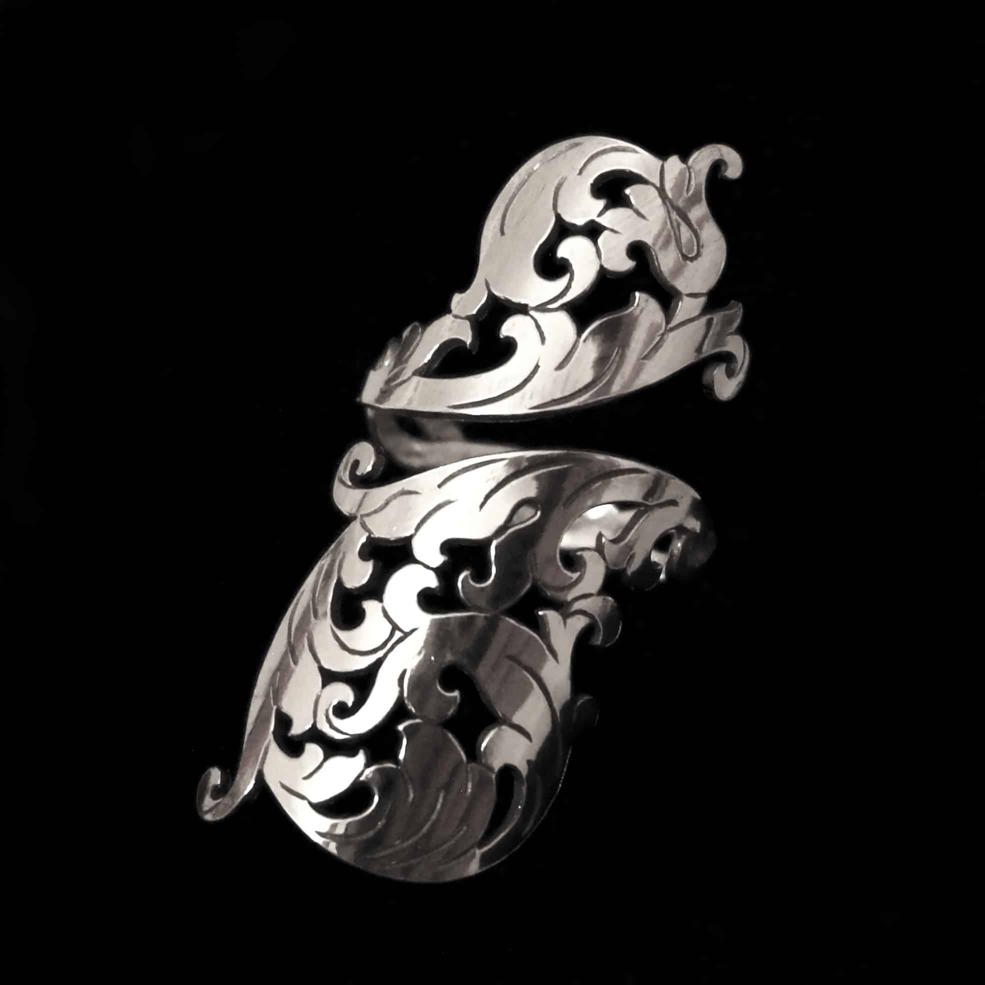 baroque-soiree-adjustable-silver-ring-by-skadi-jewellery-design