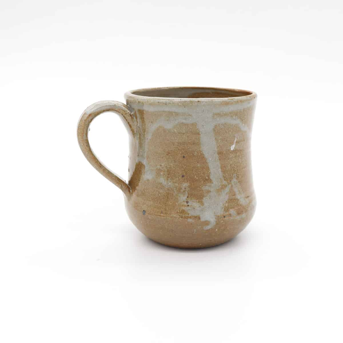 Small Ceramic Mug – Gold And Grey By Clifton Hill Pottery