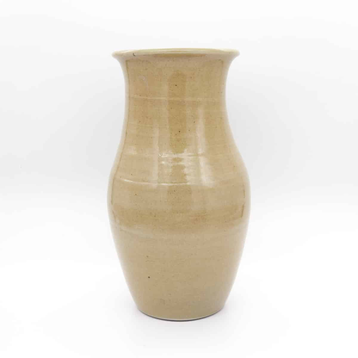 Large Ceramic Vase – Gold By Clifton Hill Pottery