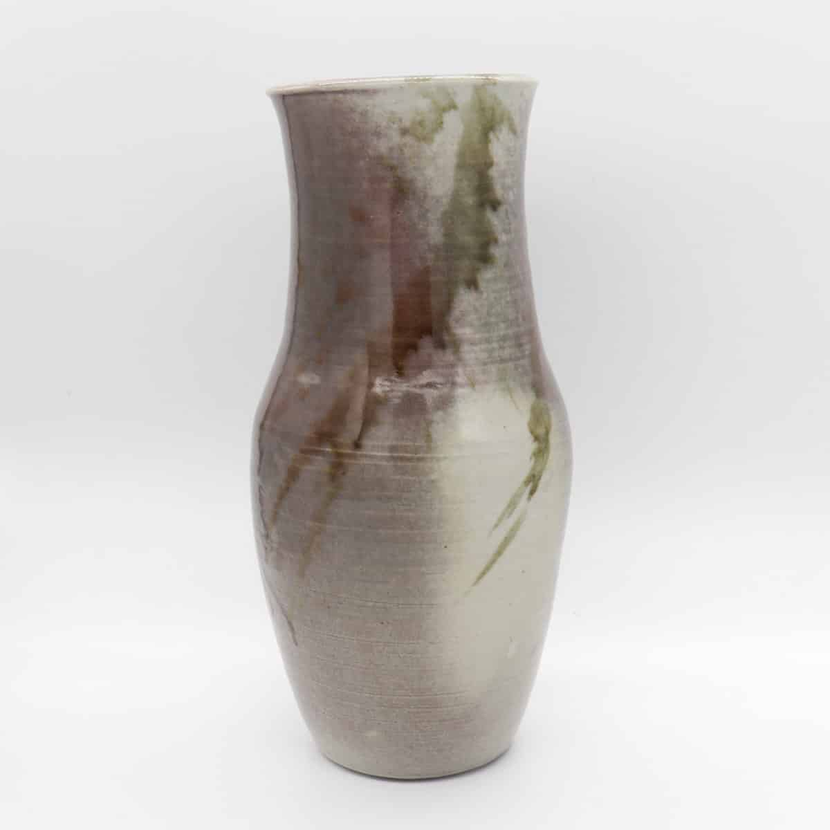 Large Ceramic Vase – Mauve/Green By Clifton Hill Pottery