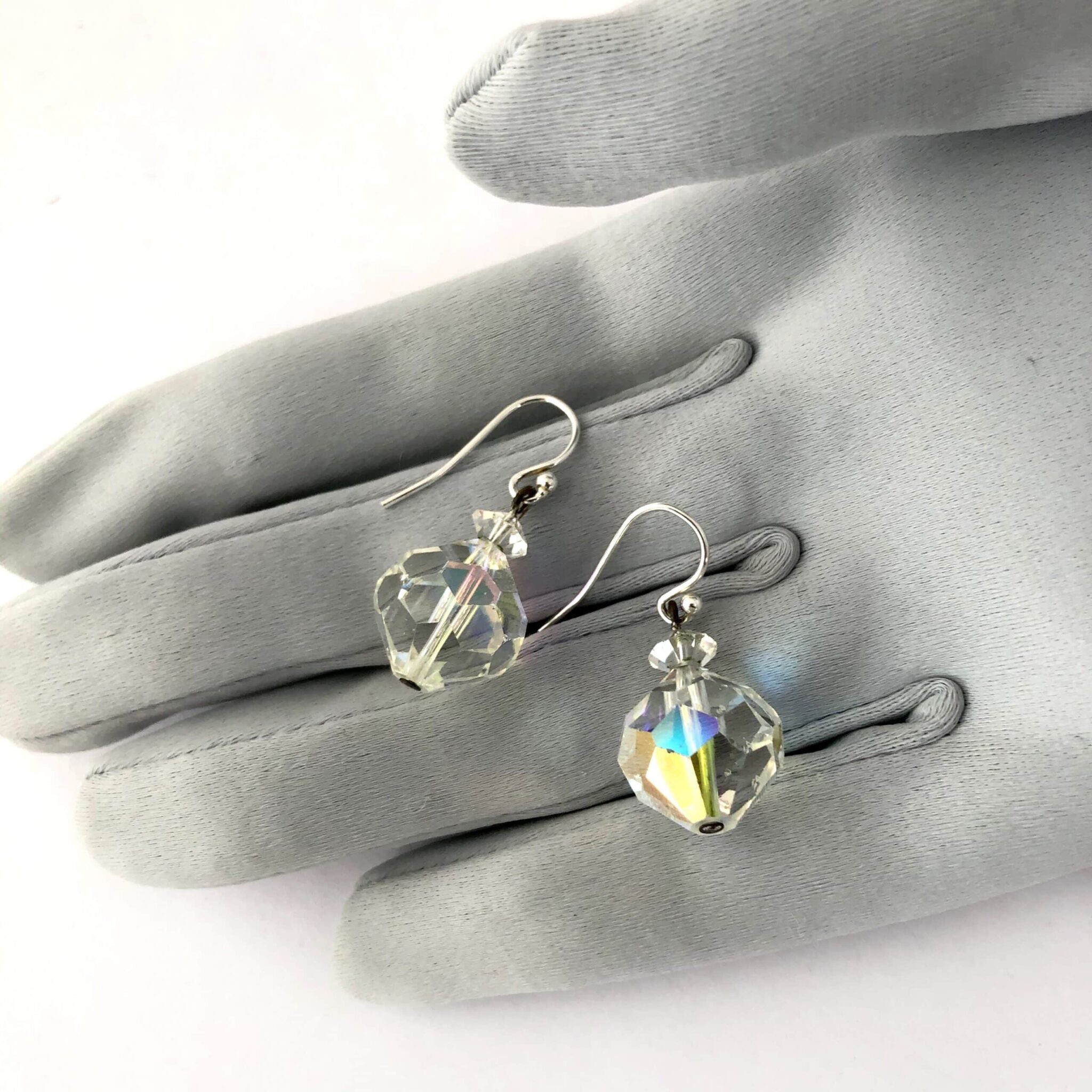 Upcycled Crystal Earrings By My Vintage Obsession