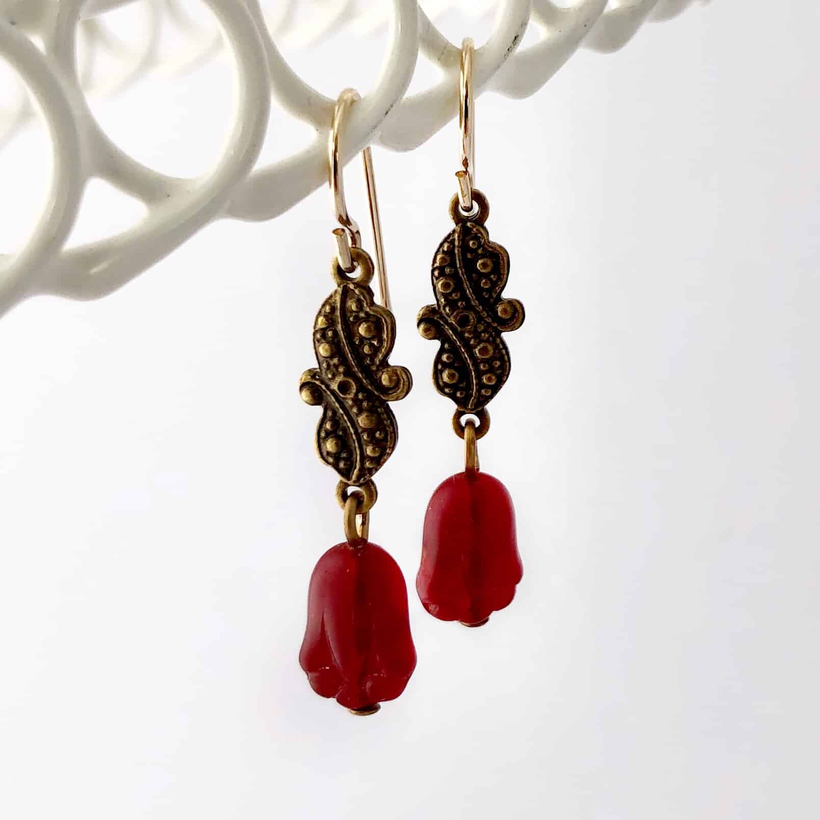 vintage-czech-glass-tulip-earrings-by-my-vintage-obsession-by-myvintageobsession2020