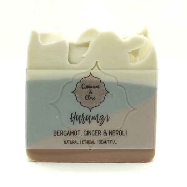 hurumzi-handcrafted-all-natural-bergamot-artisansoap-by-cinnamon-and-clove-by-Clare