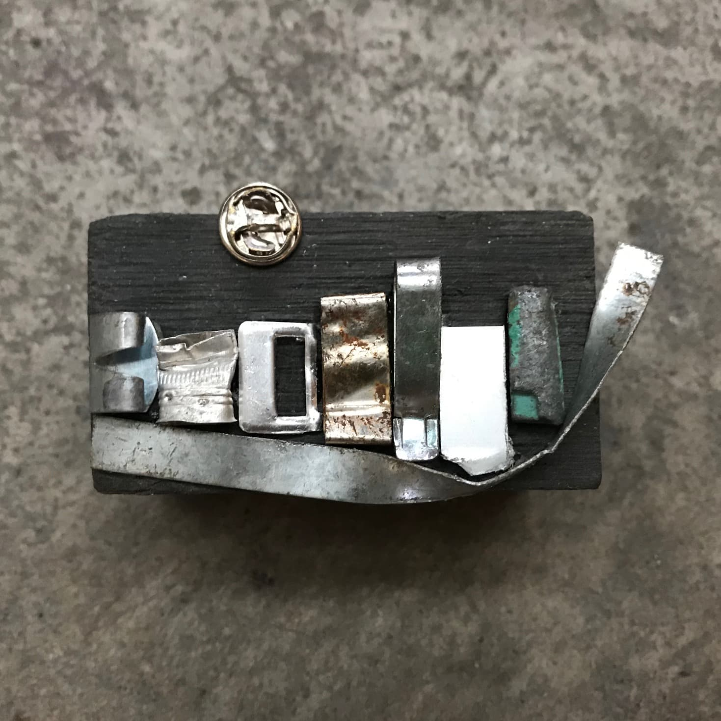 Silver City 9 – Miniature Cityscape By NancyDee Sculptures