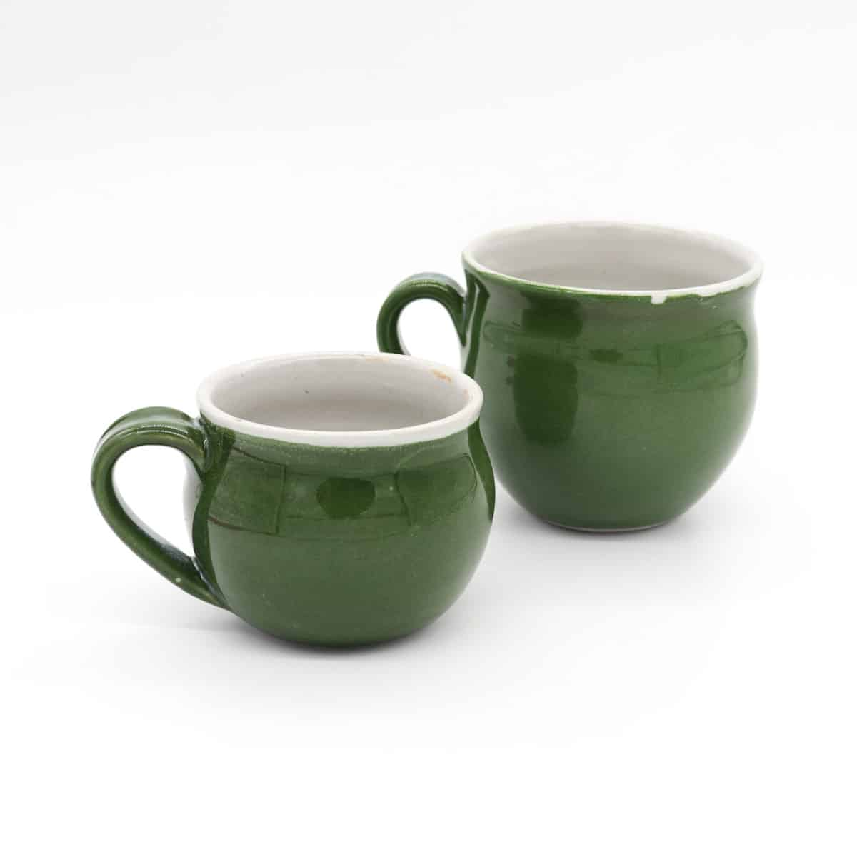 Small Green Mug By Clifton Hill Pottery