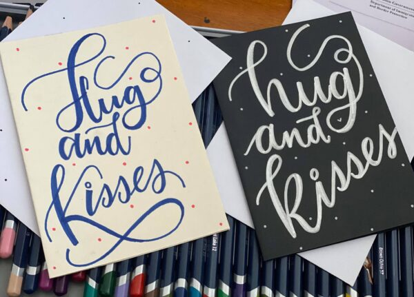 hug-and-kisses-greeting-card-by-artsy-by-yeshapatel