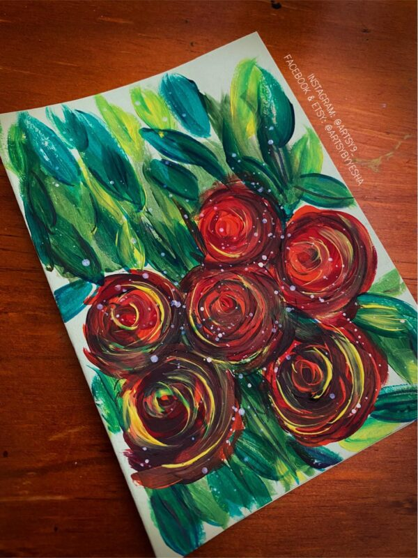 wild-red-floral-greeting-card-by-artsy-by-yeshapatel