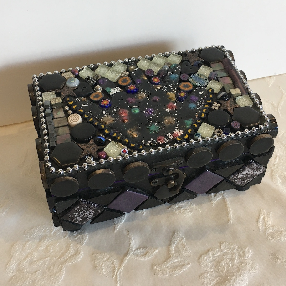 Celestial Magic Box By Amethyst Moon Art