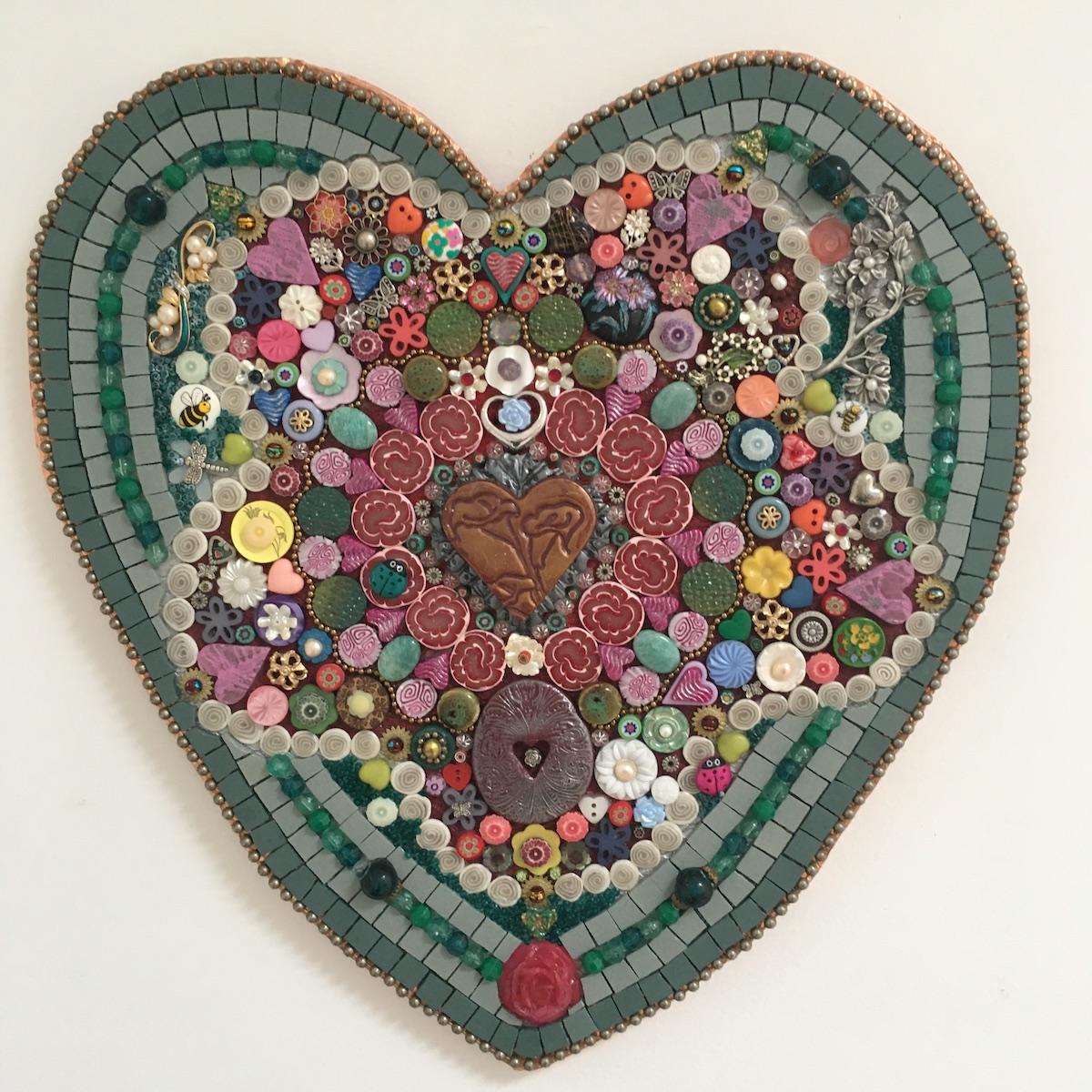 In The Heart Of The Garden By Amethyst Moon Art