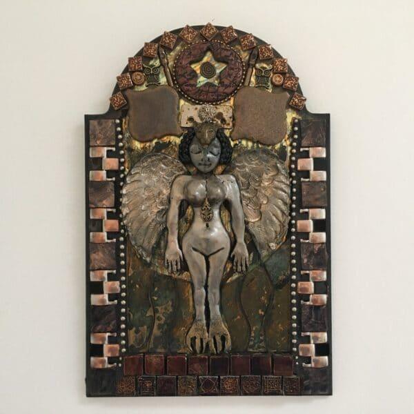 goddess-art-ereshkigal-queen-of-the-underworld-by-amethyst-moon-art-by-Amethyst Moon