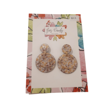 Floral Earrings by Ear Candy Boutique