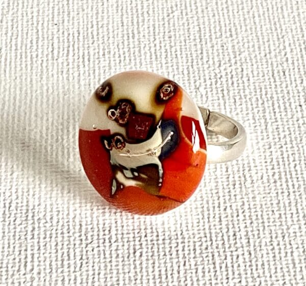 fused-glass-adjustable-sterling-silver-ring-by-Riyane_Zimmerman