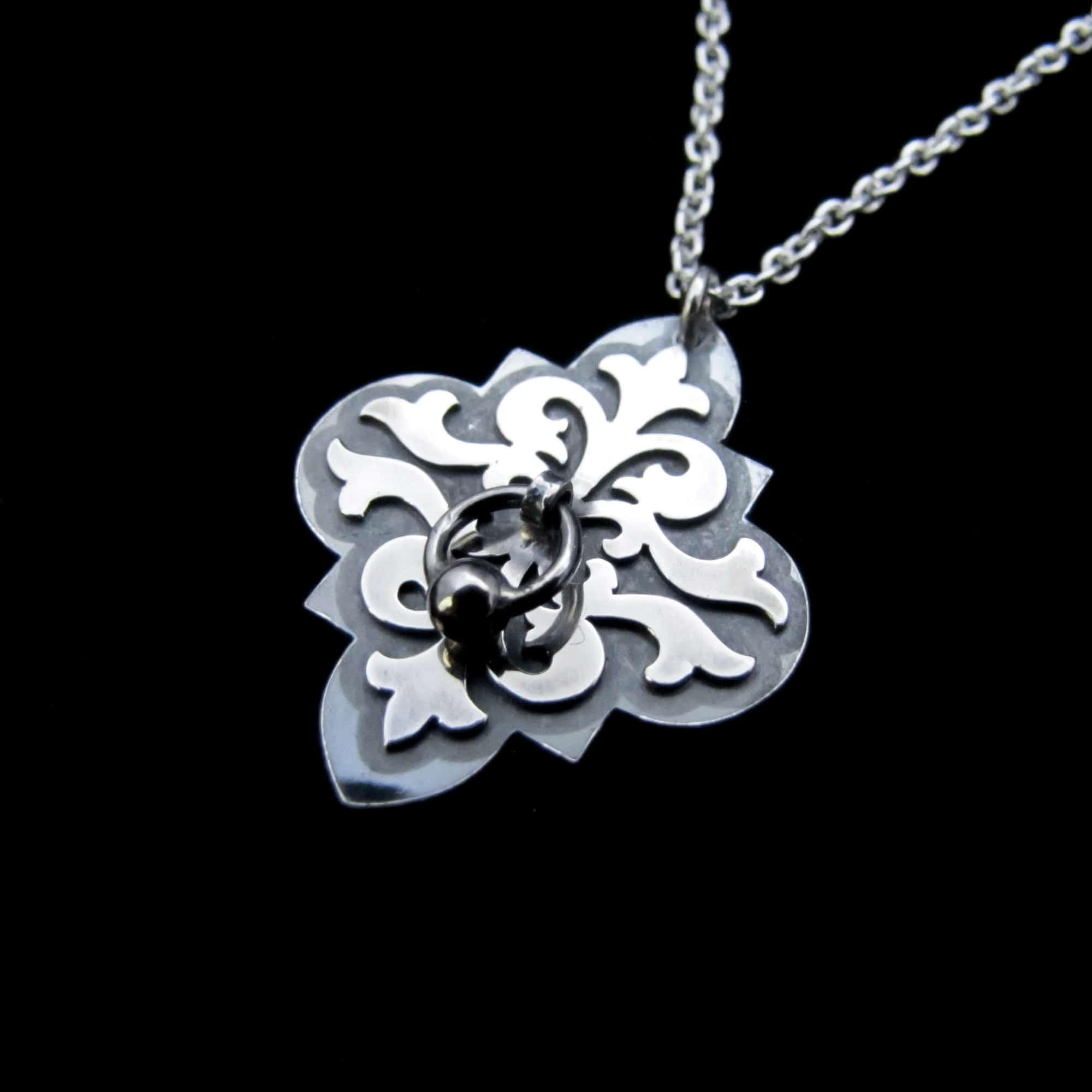 Secret Door – Silver Necklace By Skadi Jewellery Design