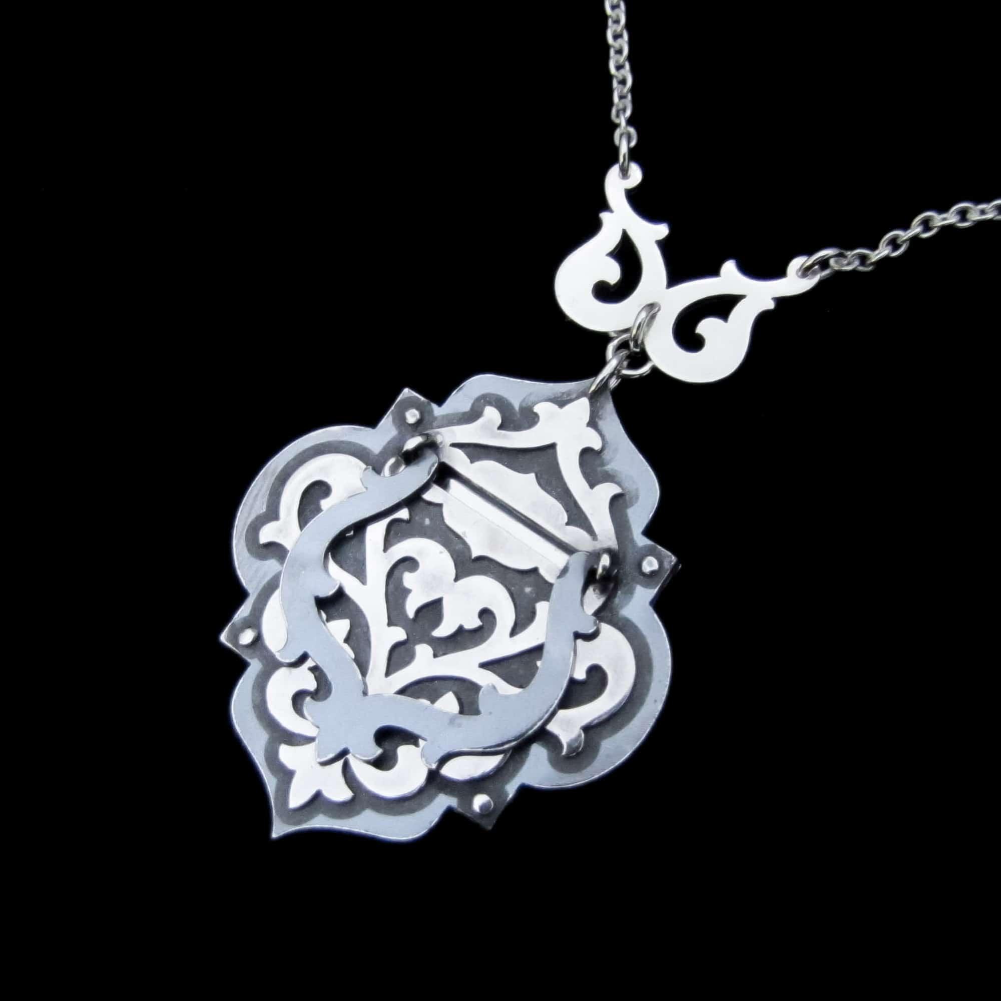 Secret Door – Silver Locket By Skadi Jewellery Design