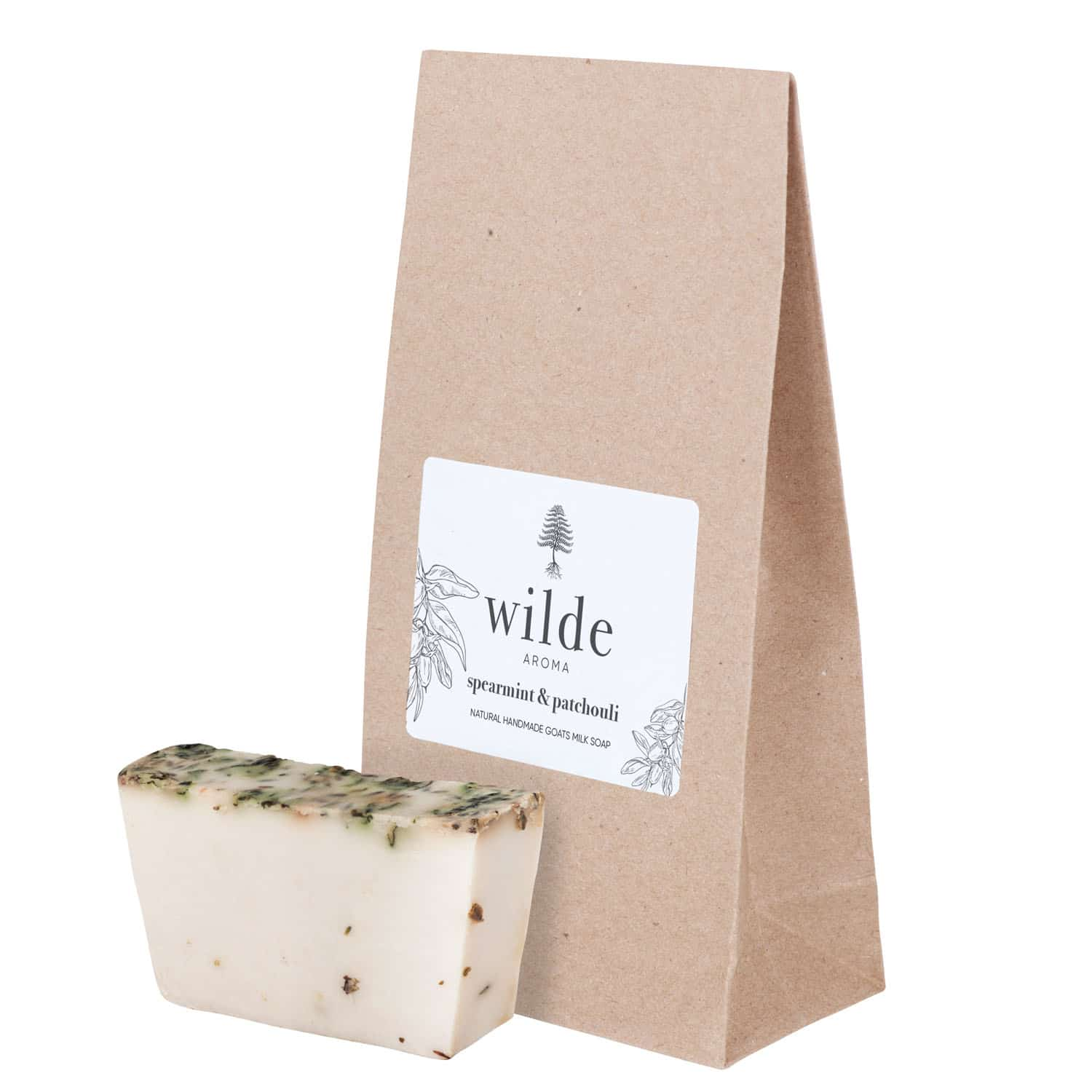 Goats Milk Soap – Spearmint And Patchouli By Wilde Aroma (Fitzroy)