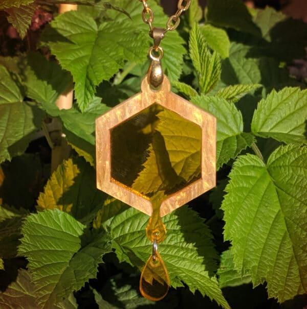honey-drip-necklace-laser-cut-acrylic-by-beth-parow-illustration-amp-design-by-bethparow