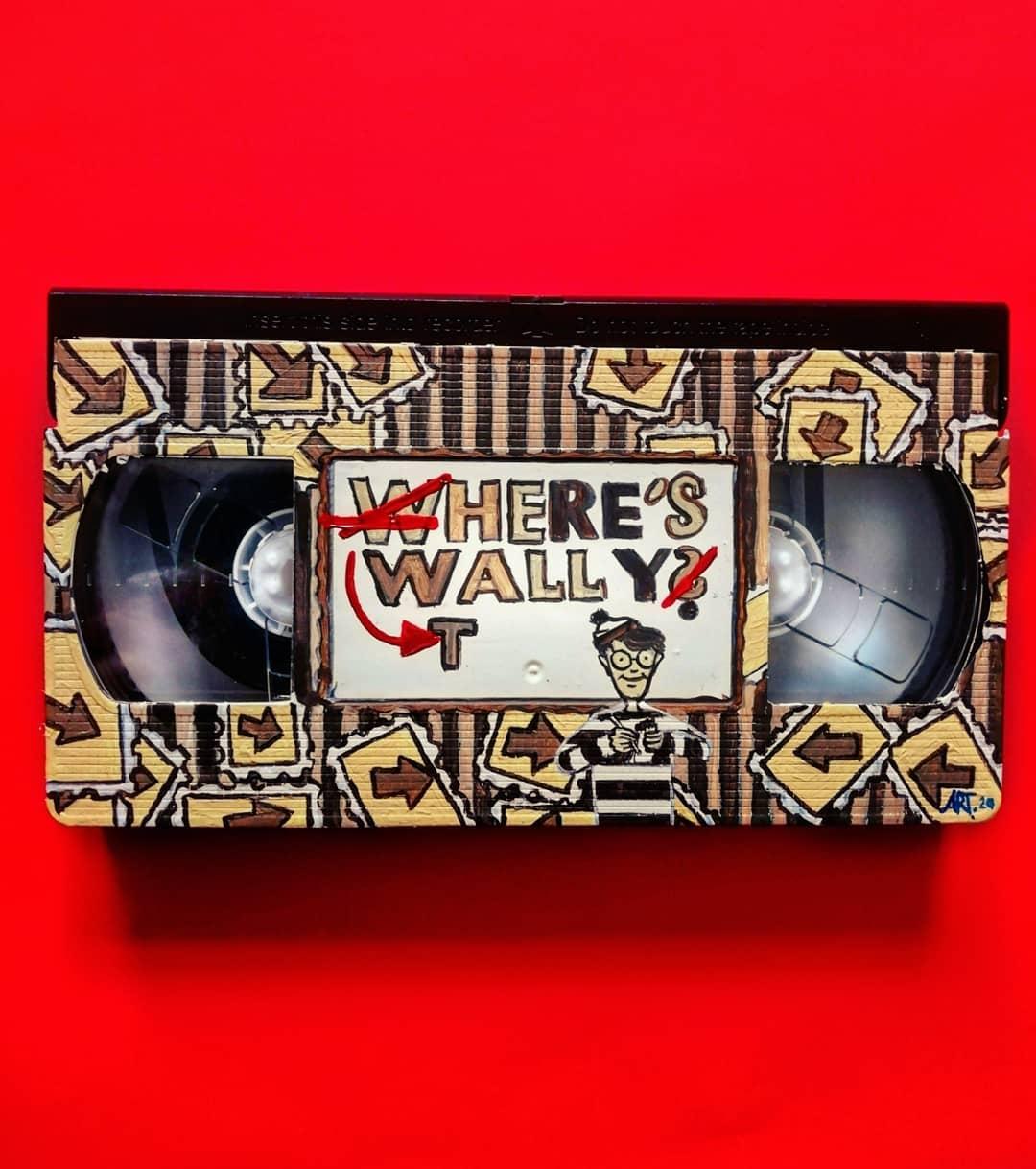 I Found Wally VHS By Adriana Artmeier