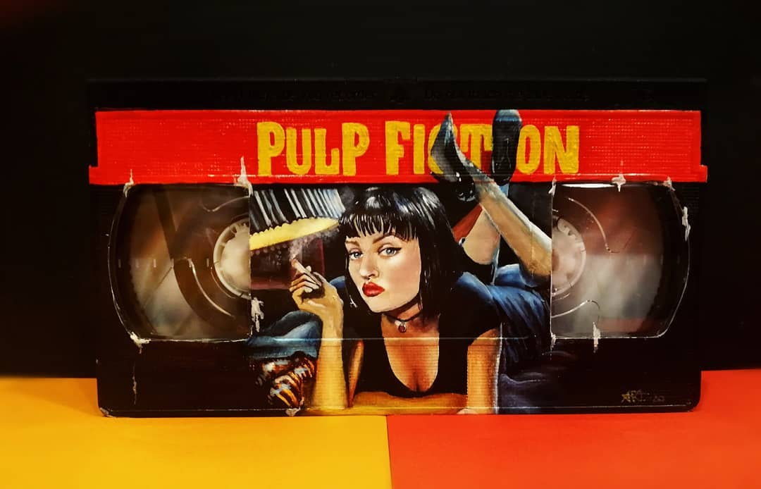 Pulp Fiction VHS By Adriana Artmeier