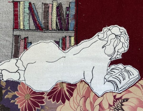 booklover-embroidered-textile-artwork-by-juliet-d-collins-fitzroy-by-julietdcollins