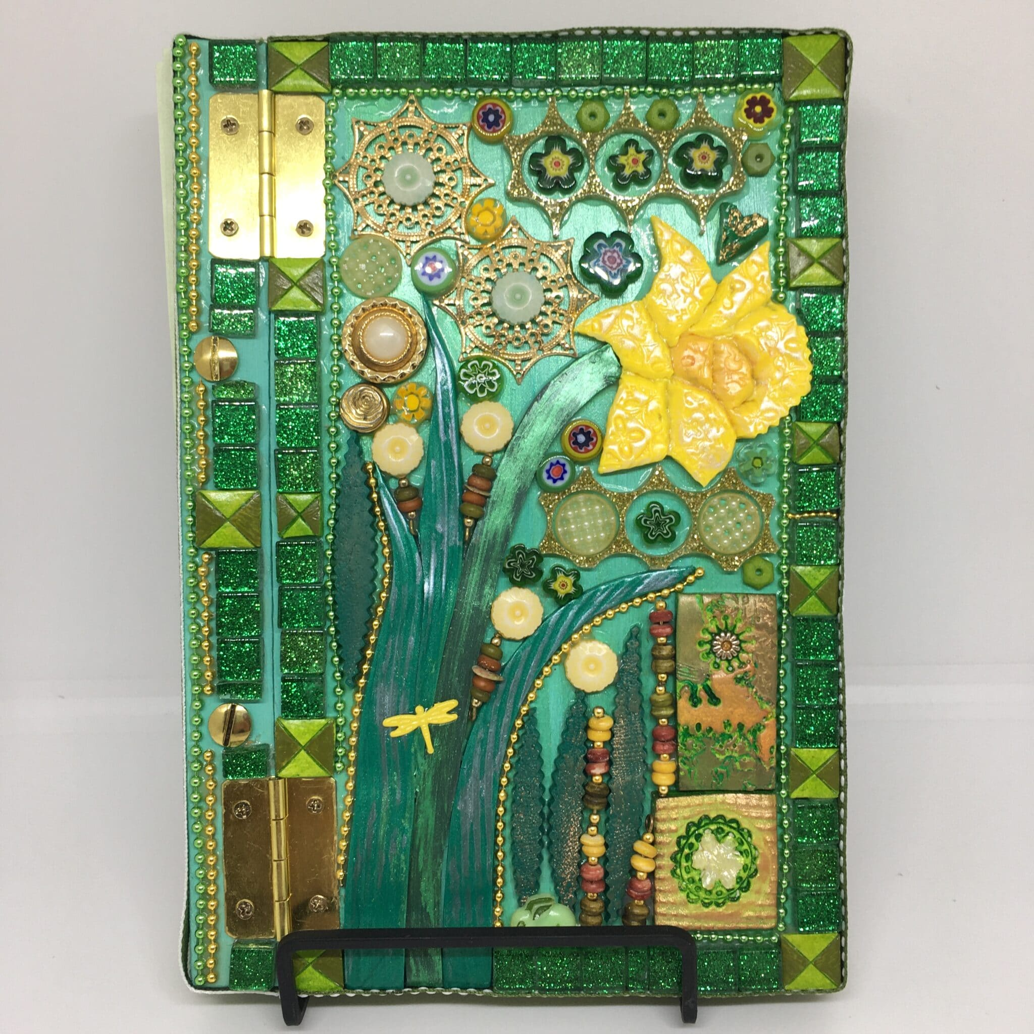 Art Journal: Daffodil Days By Amethyst Moon Art