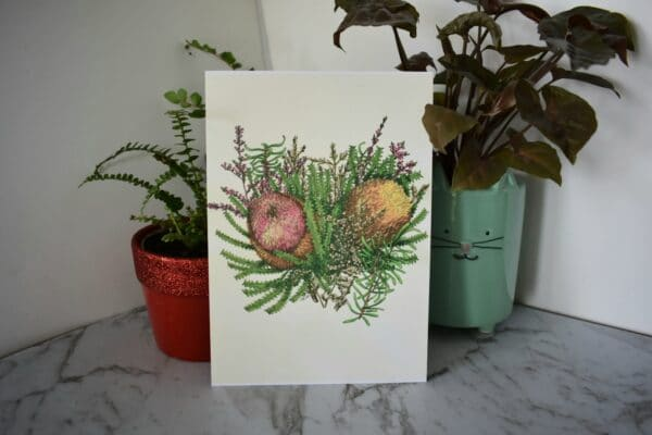 banksia-2-botanical-collection-art-print-sarah-sheldon-art-by-a-vibrant-nest-by-avibrantnest