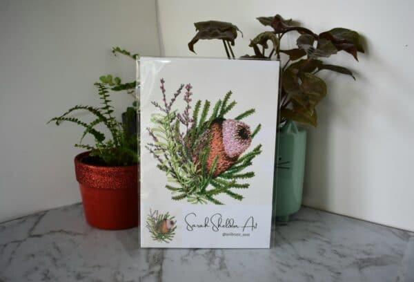 banksia-1-botanical-collection-art-print-sarah-sheldon-art-by-a-vibrant-nest-by-avibrantnest