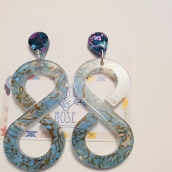 infinity-acrlyic-drop-earrings-blue-marbled-by-kate-amp-rose-by-katenrosetea