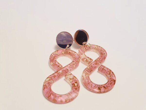 infinity-acrylic-drop-earrings-pink-marbled-by-kate-amp-rose-by-katenrosetea