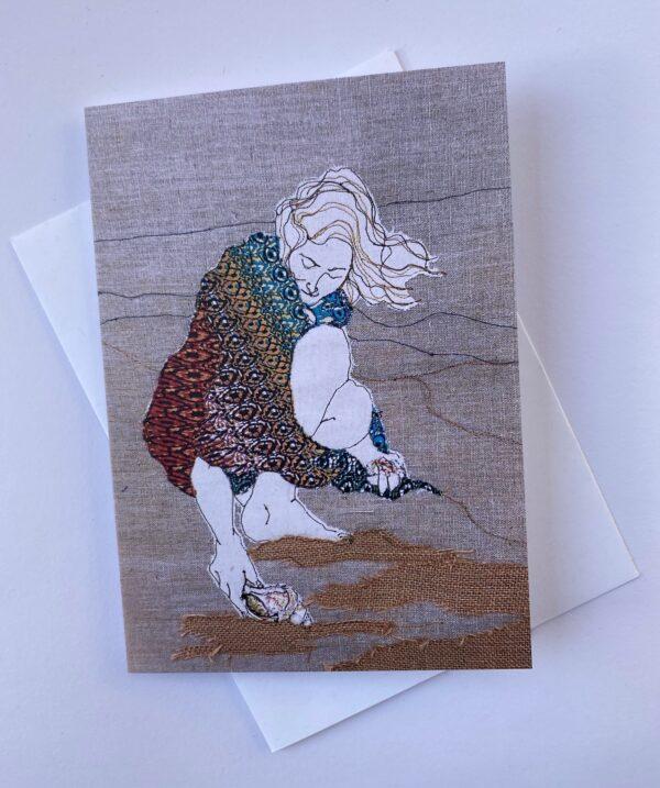 shellfinder-greeting-card-by-juliet-d-collins-by-julietdcollins