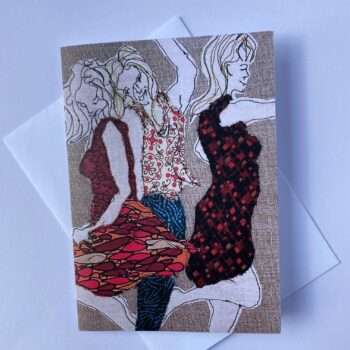girls-just-want-to-have-fun-greeting-card-by-juliet-d-collins-by-julietdcollins