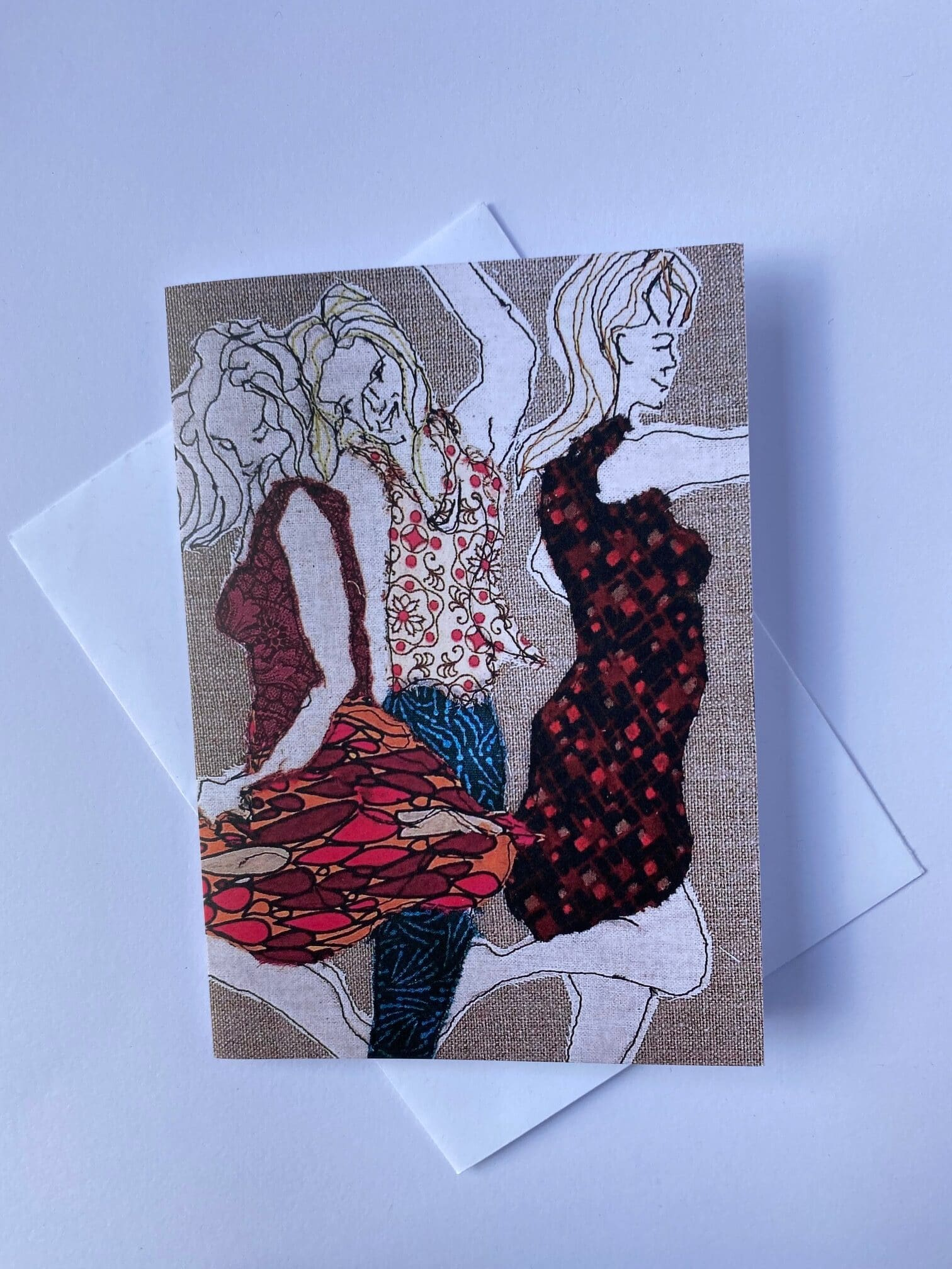 Girls Just Want To Have Fun Greeting Card By  Juliet D Collins (Fitzroy)