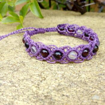 purple-macrame-gemstone-bracelet-made-by-athenas-owl-healing-and-creations-by-HalinaK